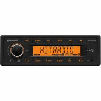 Continental 12V Radio - Bluetooth/MP3/WMA/USB - Kort indbyg. dybde - TR7412UB-OR